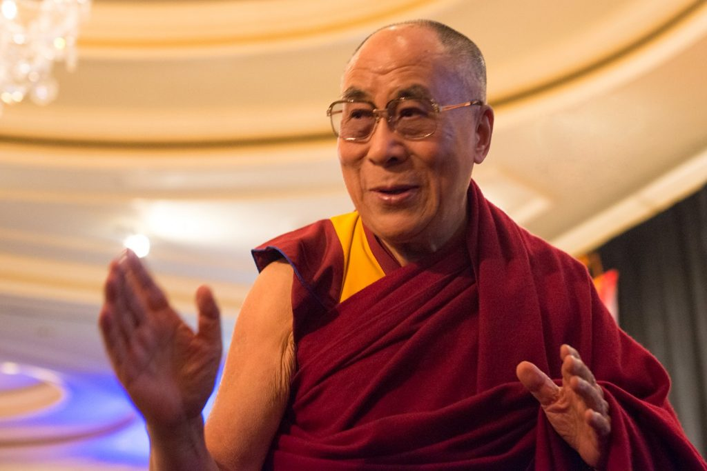 Dalai lama on anger